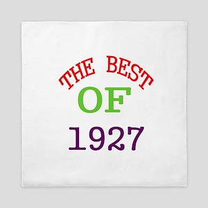 The Best Of 1927 Queen Duvet