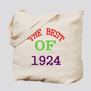 The Best Of 1924 Tote Bag