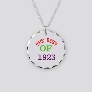 The Best Of 1923 Necklace Circle Charm
