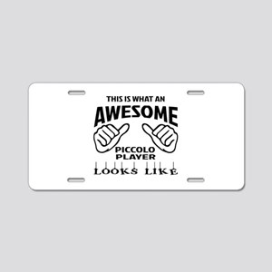 This is what an awesome Pic Aluminum License Plate