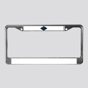 BE in Vermont Snowflake License Plate Frame