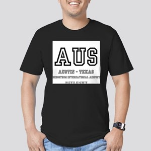 AIRPORT CODES - AUS - AUSTIN TEXAS T-Shirt