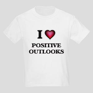 I Love Positive Outlooks T-Shirt