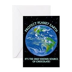 Source of Chocolate - Birthday Card