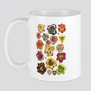 Assorted Daylilies Mug