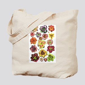 Assorted Daylilies Tote Bag