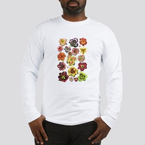 Assorted Daylilies Long Sleeve T-Shirt
