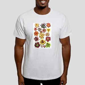 Assorted Daylilies Light T-Shirt