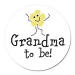 Customize New Baby Round Car Magnet