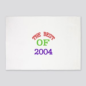 The Best Of 2004 5'x7'Area Rug