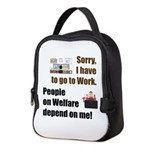 Sorry Neoprene Lunch Bag