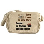 Sorry Messenger Bag