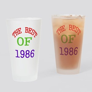 The Best Of 1986 Drinking Glass