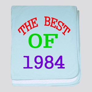 The Best Of 1984 baby blanket