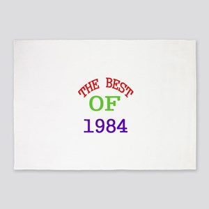 The Best Of 1984 5'x7'Area Rug