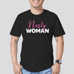 Clinton - Nasty Woman Men's Fitted T-Shirt (dark)