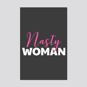 Clinton - Nasty Woman Mini Poster Print
