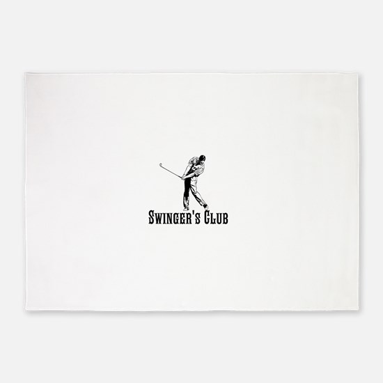 Swingers Club 5'x7'Area Rug