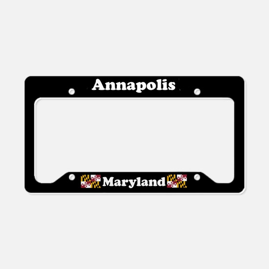 Annapolis MD License Plate Holder