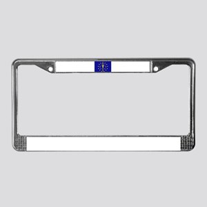 """Indiana State Flag"" License Plate Frame"