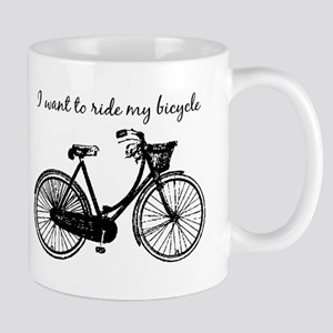 """Want to ride my Bicycle"" Motivational M"