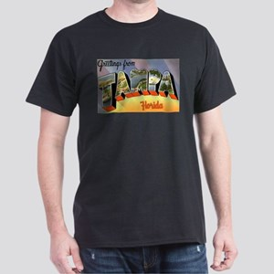 Tampa Florida Greetings Ash Grey T-Shirt