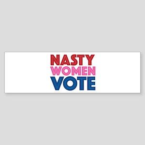 Nasty Women Vote Sticker (Bumper)