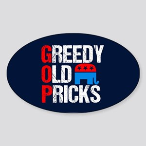 GOP Satire Sticker (Oval)