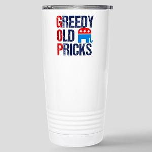 GOP Satire 16 oz Stainless Steel Travel Mug