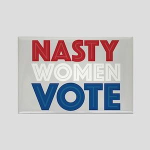 Nasty Women Vote Rectangle Magnet