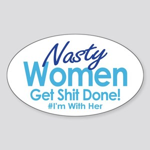 Nasty Women Sticker
