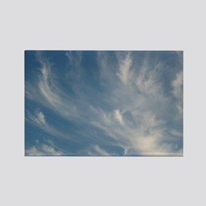 swirled cloud sky Magnets