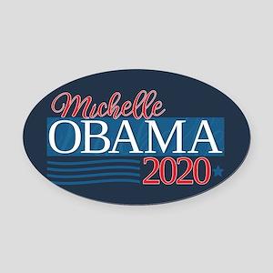 Michelle Obama 2020 Oval Car Magnet