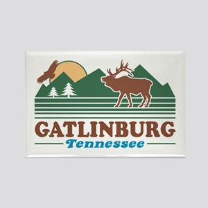 Gatlinburg Tennessee Rectangle Magnet