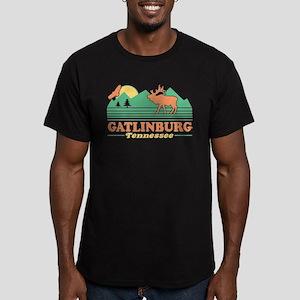 Gatlinburg Tennessee Men's Fitted T-Shirt (dark)