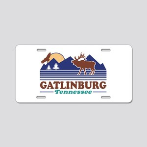 Gatlinburg Tennessee Aluminum License Plate