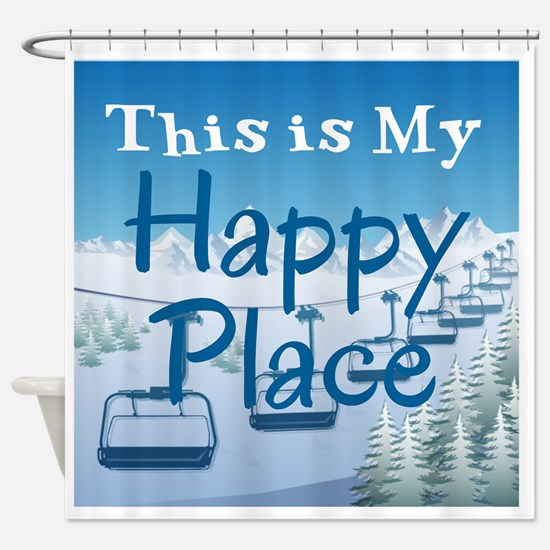 Cute Places Shower Curtain