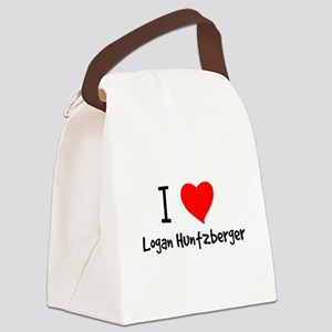 luvlogan Canvas Lunch Bag