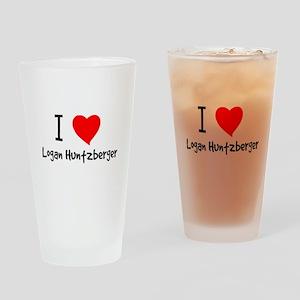 luvlogan Drinking Glass