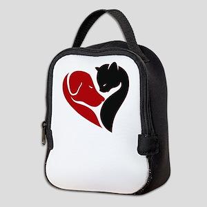 pets lovers Neoprene Lunch Bag