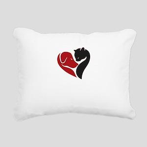 pets lovers Rectangular Canvas Pillow