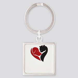 pets lovers Keychains