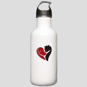pets lovers Stainless Water Bottle 1.0L