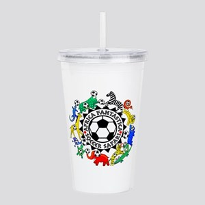 Soccer Safari Acrylic Double-Wall Tumbler
