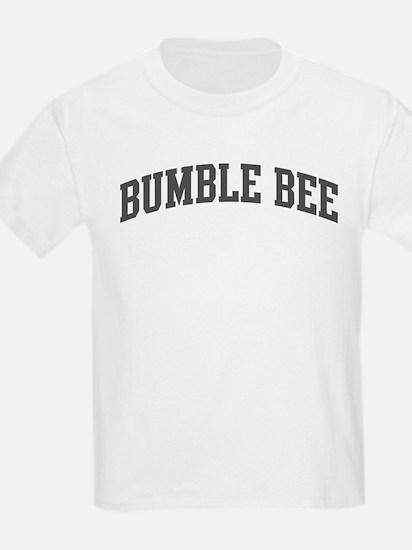 Bumble Bee (curve-grey) T-Shirt