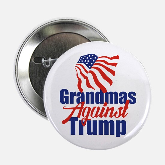 """Grandmas Against Trump 2.25"""" Button"""