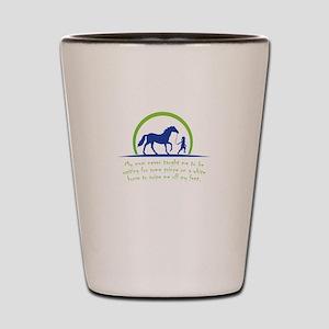 i love horse Shot Glass