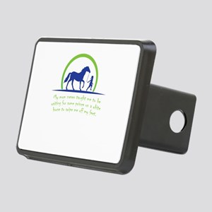 i love horse Rectangular Hitch Cover