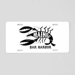 Bar Harbor Maine Aluminum License Plate