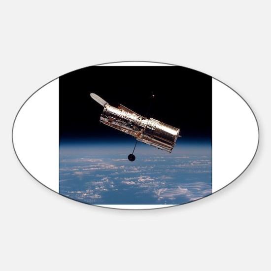 Cute Space shuttle discovery Sticker (Oval)